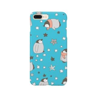 お星さまとペンギン(sky!) Smartphone cases