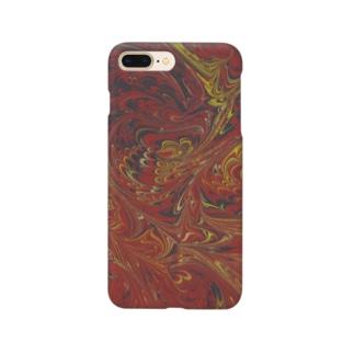 トルコのマーブル模様|ビュルビュルユワス1 Smartphone cases