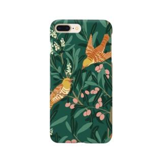 オリーブの森 グリーン Smartphone cases