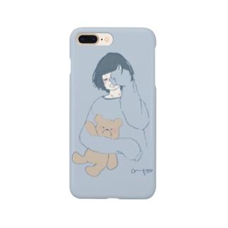 おめざめGirl Smartphone cases