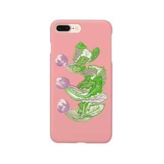 赤カブ スマホケース Smartphone cases