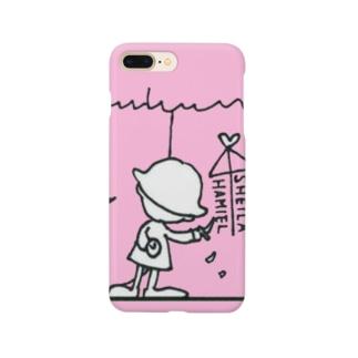 シーラ待ちハミエル ピンクちゃん Smartphone cases