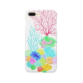 サンゴの楽園-1 Smartphone cases