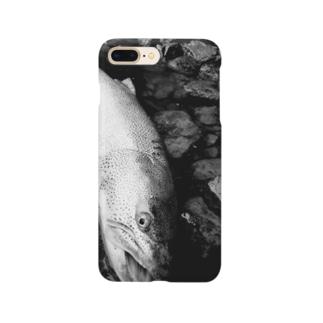 幻の魚イトウ Smartphone cases