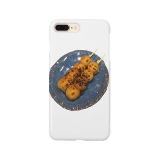 リアルみたらしシリーズ Smartphone cases