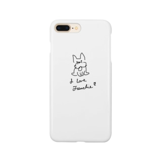 I love Frenchie♡︎ Smartphone cases