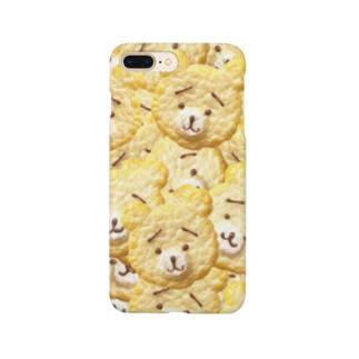 ザクザクくまさんクッキー Smartphone cases