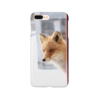 顔を出す Smartphone cases