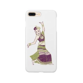 【タイの人々】伝統舞踊のダンサー Smartphone cases
