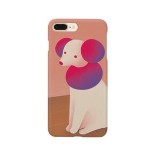 あたたまるいぬ Smartphone cases