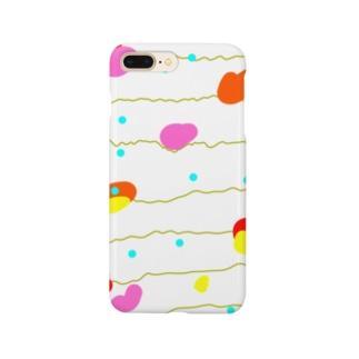 水風船っぽい柄のスマホケース Smartphone cases