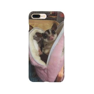 フクロモモンガ Smartphone cases