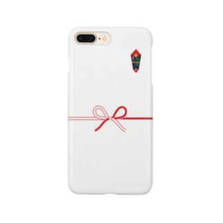 のし Smartphone cases