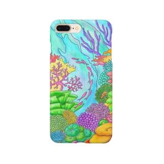 サンゴと魚の楽園-1 Smartphone cases