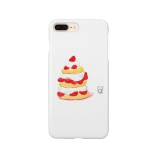 アメリカンショートケーキと犬くん Smartphone cases