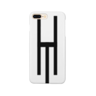 Tsubara Hayashi Official Logo 【White】 Smartphone cases