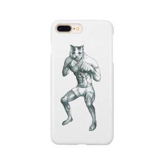 猫パンチiPhoneケース Smartphone cases