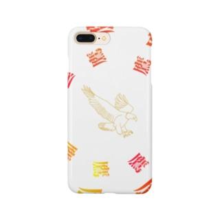デザイン鷹 Smartphone cases