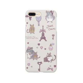 チンチラ&デグー Envie de Paris Smartphone cases