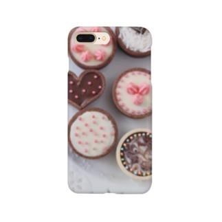 チョコレート3 Smartphone cases