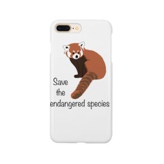 レッサーパンダ 絶滅危惧種を守ろう Smartphone Case