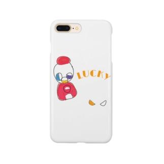 おいっこの好きなガチャガチャ【LUCKY】 Smartphone cases