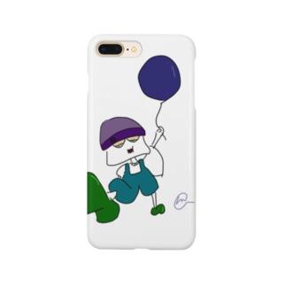 イタズラ好きな少年 Smartphone cases