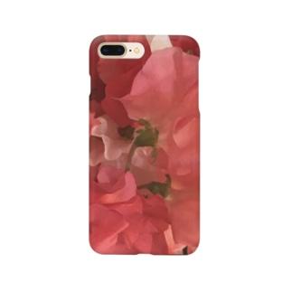 赤いスイートピー Smartphone cases