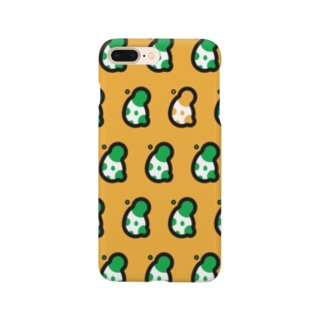 BUBBLE EGG : 黄 Smartphone cases