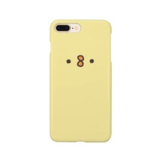 つみぴよでっかいiPhoneケース Smartphone cases