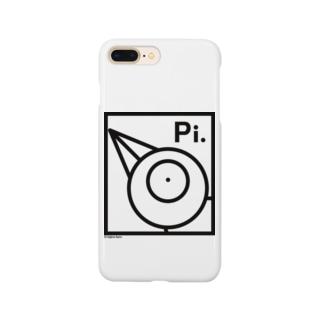チュンチュン「シンプル-Pi」 Smartphone cases