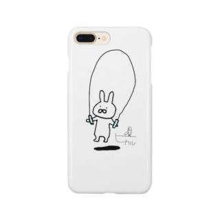 なわとびうさぎ/サイン Smartphone cases