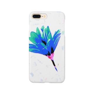 サクヨロコビ(青) Smartphone cases
