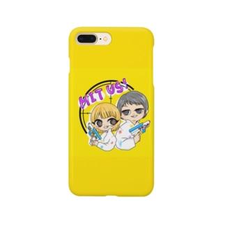 スマホケース(てんとう虫の汁色) Smartphone cases