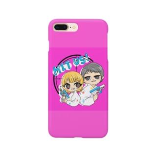 スマホケース(舌色) Smartphone cases