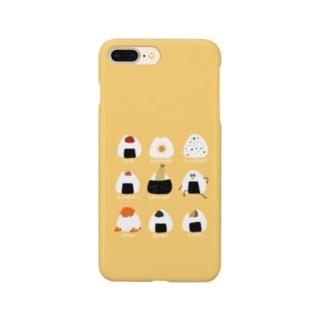 憧憬のおにぎり Smartphone cases