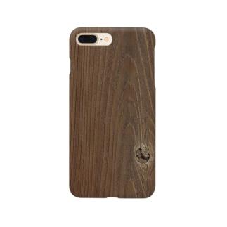 木目調3 Smartphone cases
