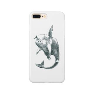 魚肉iPhoneケース Smartphone cases