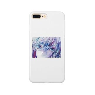まばたき Smartphone cases