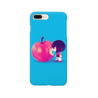 シャクシャクりんご Smartphone cases