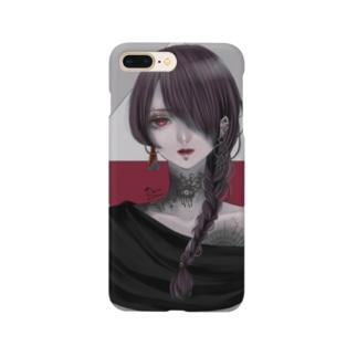 来瀬ヨリのガーネット Smartphone cases