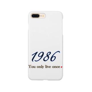 1986 Smartphone cases