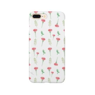 ポピー(白) Smartphone Case