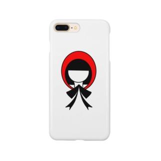 かぶりものシリーズ:赤ずきんちゃん Smartphone cases