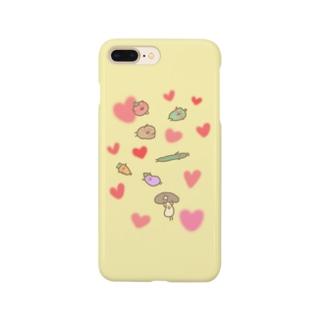 仲良し野菜のべじさんず Smartphone cases