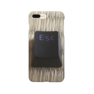 Escキー Smartphone cases