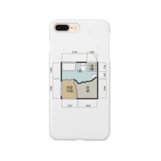 非行少年が設計したマンションの一室 Smartphone cases