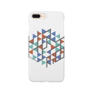 トリクロマシイiPhoneケース Smartphone cases