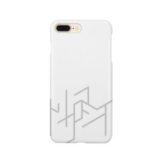 トリクロマシイロゴiPhoneケース Smartphone cases