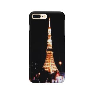 絶望的に綺麗なタワー Smartphone cases